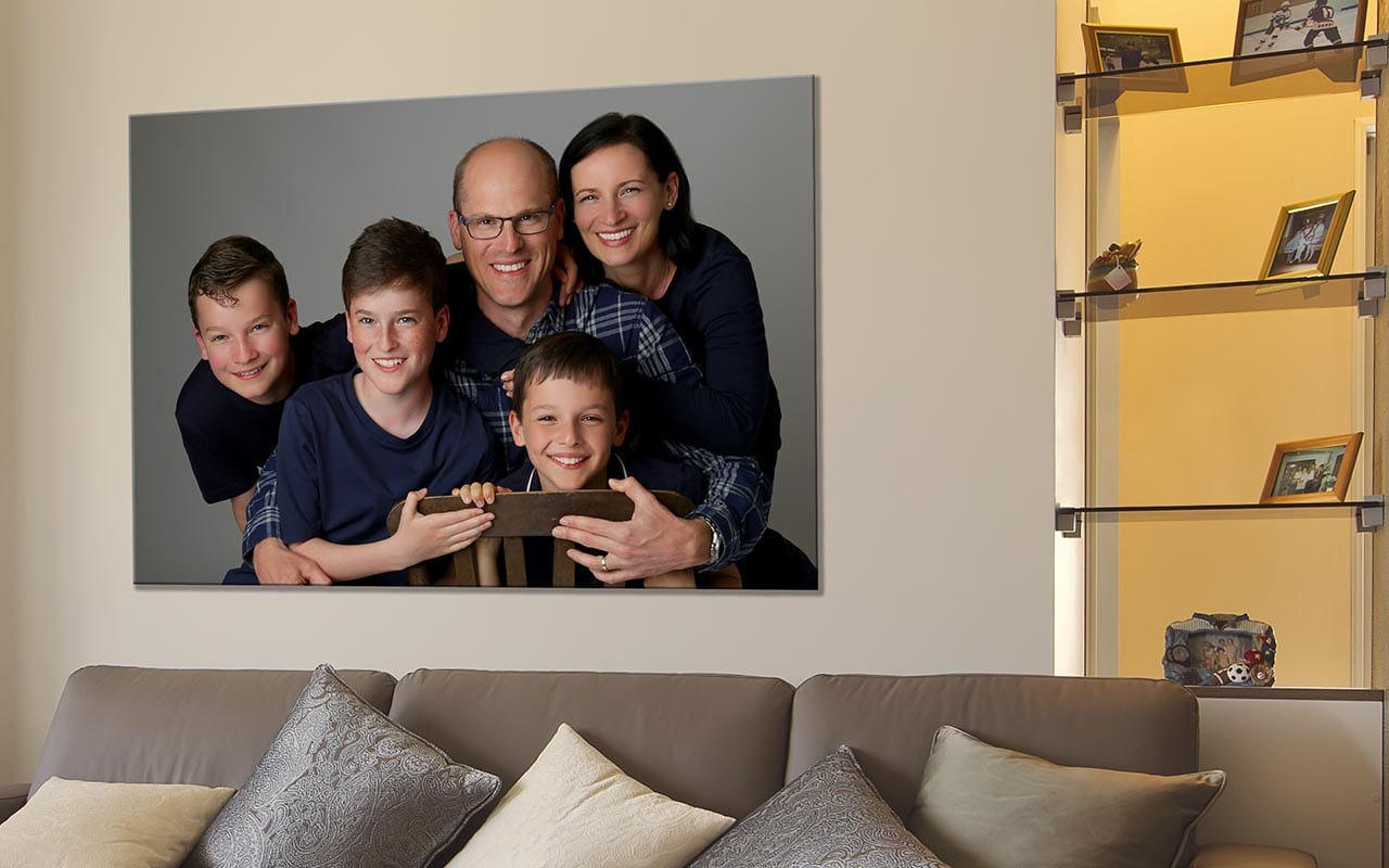 family wall art portrait