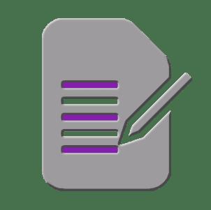 Purple Form Icon