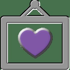 Purple Hart Icon