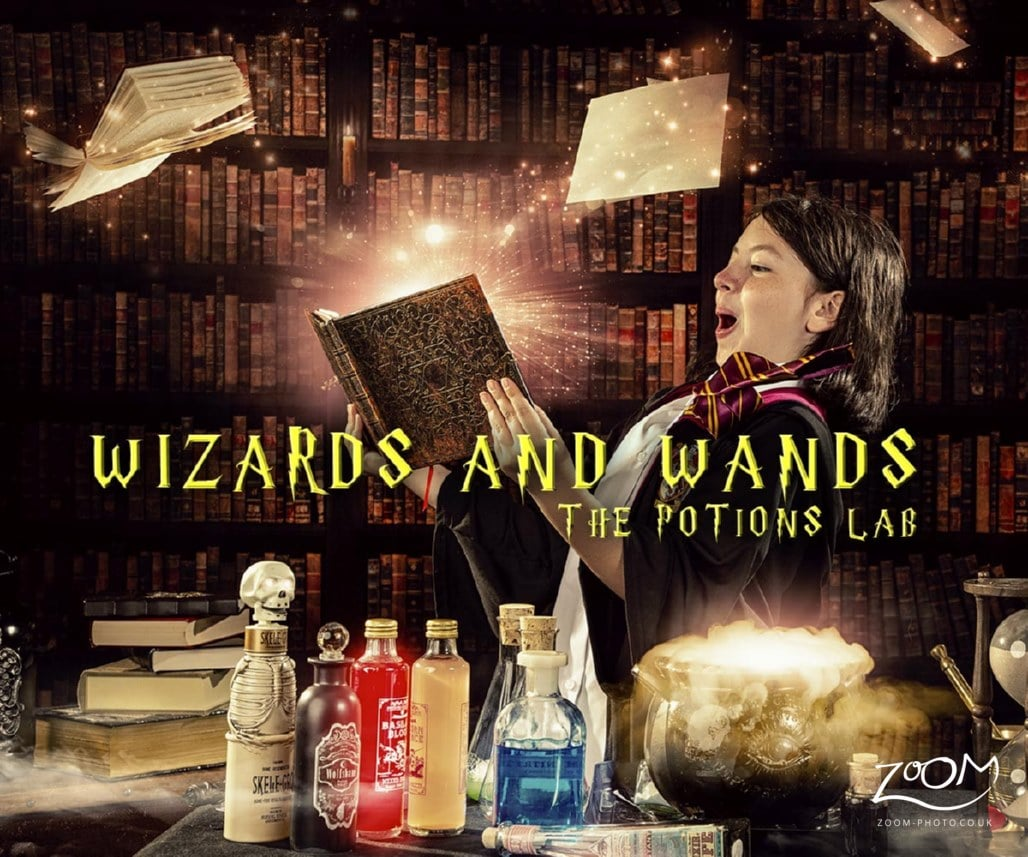 Wizard Harry potter potions lab